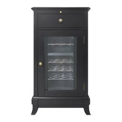 Vinotemp - VT-CAVA1 Cava 18-Bottle Wine Cooler With Thermoelectric Cooling Technology  Six - The Cava 18-Bottle Wine Cellar is a beautiful furniture-style piece that couples style with superior wine storage capabilities