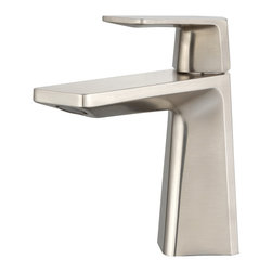 Kraus - Kraus KEF-15301BN Aplos Single Lever Basin Bathroom Faucet Brushed Nickel - Give your bathroom a style upgrade with the Aplos single lever