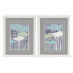Paragon - Woods PK/2 - Framed Art - Each product is custom made upon order so there might be small variations from the picture displayed. No two pieces are exactly alike.