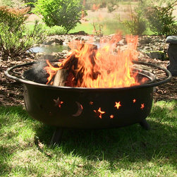 Outdoor Classics Large Cosmic Fire Pit -