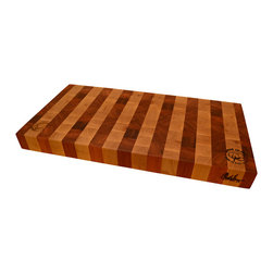 Cotton and Dust Products of West Texas - The Susan Cutting Board - The Susan is derived from the Garrett. It expounds upon its functionality and size while remaining elegant, and an absolute beauty in your kitchen. This functional accent piece is ready for work and show.