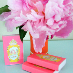 Worcester Jar Matches - These sweet matchbooks are fit for a dashing candlelit dinner party, and Valentine's Day is the perfect occasion.