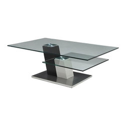 Pastel - 49.25 in. Contemporary Coffee Table - The Kachina coffee table is a simple yet elegant design that can add that stylish and modern flair to your living area.