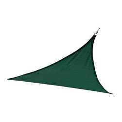 ShelterLogic Triangle Sun Shade Sail - About ShelterLogic LLCShelterLogic LLC specializes in manufacturing and distributing a full line of multi-purpose, all-weather shelters and accessories for consumer and commercial use. ShelterLogic offers the most diverse shelter product line and is the worldwide leader in innovative shelter design and manufacturing. The company makes shelters for all kinds of weather and custom solutions for every customer's need - from a full line of canopies, garages, sheds, and storage shelters to popular ports, greenhouses, equine, and engineered structures. More than 2 million ShelterLogic all-weather shelters provide protection and stand between valuable possessions and the destructive forces of nature's elements.