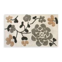Park B. Smith - Park B. Smith Asian Garden Bath Rug in Natural - This all-natural bath rug from Park B. Smith will add a stunning look to any bathroom decor. It is an easy-care rug, soft to the touch, and machine washable.