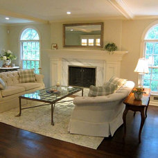 Traditional Living Room by Artistry Interiors, LLC