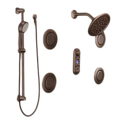Moen - Moen TS296ORB Iodigital Vertical Spa Trim Kit - From finishes that are guaranteed to last a lifetime, to faucets that balance your water pressure perfectly, the Moen series sets the standard for exceptional beauty and reliable, innovative design.