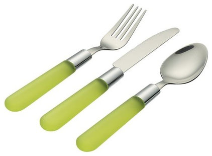 contemporary flatware by Crate&Barrel