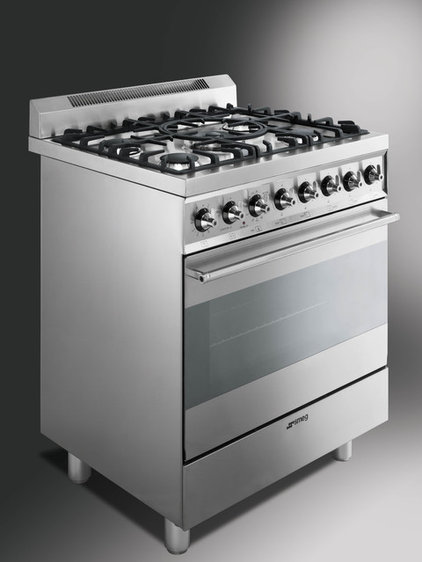 Contemporary Gas Ranges And Electric Ranges by Smeg USA