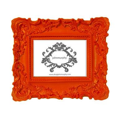 Orange Picture Frame -