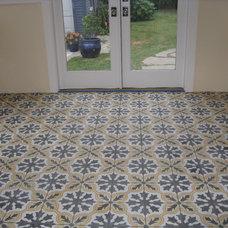 Modern Floor Tiles by Original Mission Tile