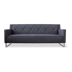 Gus Modern Thatcher Sofa in Urban Tweed Ink