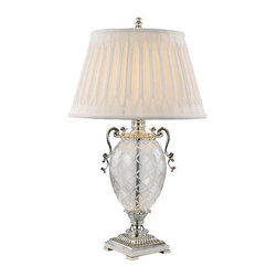 Trans Globe Lighting - Trans Globe Lighting RTL-8802 Table Lamp In Silver - Part Number: RTL-8802