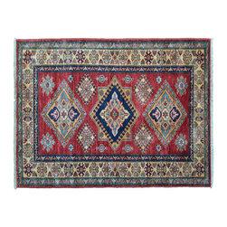 1800GetARug - Fine Kazak Tribal and Geometric Hand Knotted Rug Sh11159 - About Tribal & Geometric