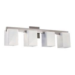 Quorum Lighting Modus Satin Nickel Bathroom Light -