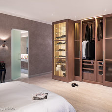 Contemporary Bedroom by Muratore Construction + Design