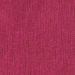 Poise Wallpaper - Dress up your walls with subtly textured raspberry wallpaper.