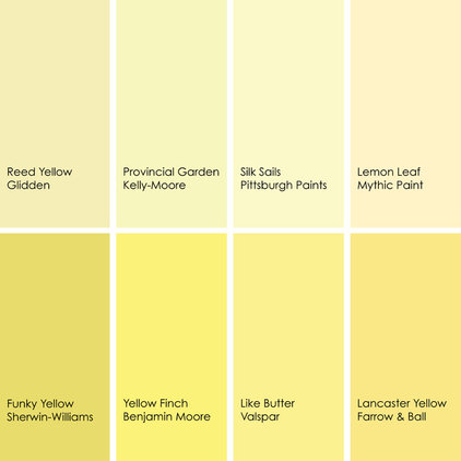 Color feast when to use yellow in the dining room for Design your own room benjamin moore