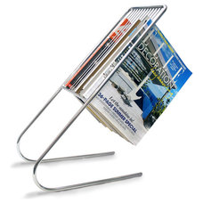 Contemporary Magazine Racks by Convenient Gadgets & Gifts