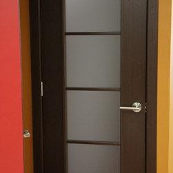 Modern Lux Interior Door Wenge Finish - Modern Lux  - Wenge Finish