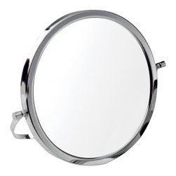 WS Bath Collections - Smile 709 Magnifying Mirror 4X - Smile 709 Magnifying Makeup Mirror, 4x Magnification