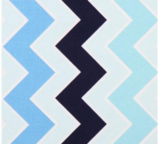 chevron zig zag fabric Shaded Chevron Ocean Riley Blake - blue Chevron stirpe fabric from the USA with zig zag pattern