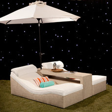 Tropical Outdoor Chaise Lounges by Somers Furniture