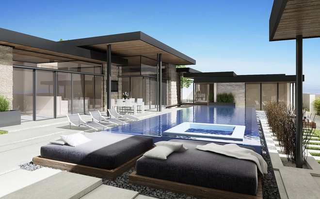 Contemporary  by Bowery Design Group