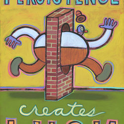 Hal Mayforth - Persistence Creates Luck - Limited Edition
