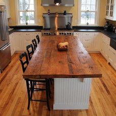 Transitional Kitchen Countertops by Longleaf Lumber Inc