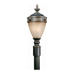 Triarch International - Triarch 75236-14 Lion Oil Rubbed Bronze Outdoor Post Light - Triarch 75236-14 Lion Oil Rubbed Bronze Outdoor Post Light