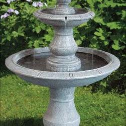 Campania - Three Tier Tuscan Fountain -