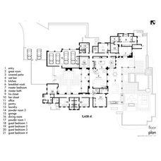 Contemporary Floor Plan Whisper Rock Floor Plans