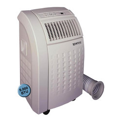 Sunpentown - 9,000 BTU TechniTrend - Stay COOL and breathe fresher air with our TN-90E model. Enjoy many cool and comfortable summers with this air conditioner unit. Cooling, dehumidifying and fan features all in one. Powered by9,000btu cooling capacity, it ideally cools an area up to 250sq.ft. Uses new UL required LCDI (Leakage-Current Detection and Interruption) plug .