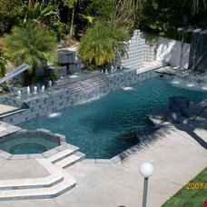 Modern Swimming Pools And Spas by Universal Pool and Spa