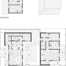 Contemporary Floor Plan Designed for Habitat