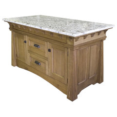 traditional kitchen islands and kitchen carts by Rockwood Cabinetry