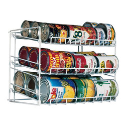 Atlantic Inc - Atlantic Inc Original Canrack in White - Atlantic Inc - Kitchen Accessories - 1002 - Atlantic Inc. brings you innovative storage solutions for your home. Keep your pantry clutter free with the durable Canrack.