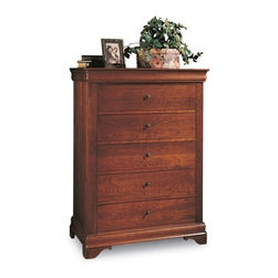 Durham Furniture - Durham Furniture Chateau Fontaine Chest in Candlelight - Durham Furniture has been making solid wood furniture of the highest quality and enduring value since 1899. Our proud legacy of quality, integrity and dependability places us among North America&rsquos premier manufacturers of fine furniture.