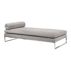 Quba Daybed, Grey Fabric