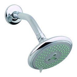 "Hansgrohe - Hansgrohe 27447821 Brushed Nickel Raindance E Raindance E Shower Head - Raindance E Shower Head Only Multi Function with 5"" Spray FaceOversized 5"" spray face AIR-injection technology Features Rubit cleaning system 3 spray modes: Rain AIR, Balance AIR, Whirl AIR"