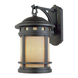 """Designers Fountain - Designers Fountain Sedona-ES Outdoor Lighting Fixture - Shown in picture: 9"""" Energy Star Wall Lantern in Oil Rubbed Bronze finish"""