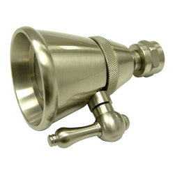 Kingston Brass - 2-1/4in. Adjustable Spray Shower Head - Fabricated from solid brass material for durability and reliability, Premium color finish resists tarnishing and corrosion, 2-1/4in. diameter spray face.