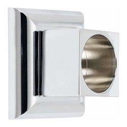 Alno Inc. - Alno Manhattan Shower Rod Brackets Chrome - Alno Manhattan Shower Rod Brackets Chrome