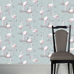 Cole & Son - Flamingos 44 Wallpaper - Wallpaper Calculator