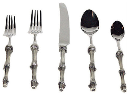 Asian Flatware And Silverware Sets by Branca