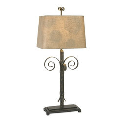 IMAX CORPORATION - Valencia Wrought Iron Table Lamp - Valencia Wrought Iron Table Lamp. Find home furnishings, decor, and accessories from Posh Urban Furnishings. Beautiful, stylish furniture and decor that will brighten your home instantly. Shop modern, traditional, vintage, and world designs.