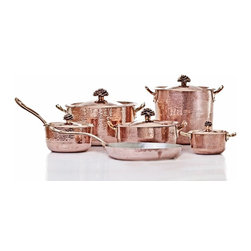 Amoretti Brothers Copper Cookware set of 11 -