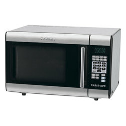 Cuisinart - Cuisinart 1000-Watt Stainless Steel Counter Top Microwave Oven - Family inspired, 1.0 cu. ft. capacity