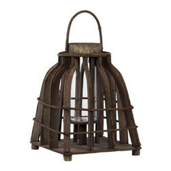 Urban Trends Wooden Lantern - Brown - 12.6H in. - About Urban Trends Collection:Urban Trends Collection is a leading home décor and decorative home accessories company. They specialize in the latest home furnishings, decorative home accessories, accent pieces, and garden accessories. Urban Trends is a global company that provides quality, reasonably priced home decor to their customers. They deal extensively in decorative home accessories items crafted in Spain, China, India, Turkey, and the Philippines. Urban Trends works with the best artisans and craftspeople as well as only quality manufacturers and reputable factories.